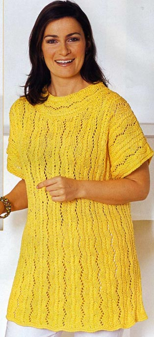 Вязания спицами модные жилеты