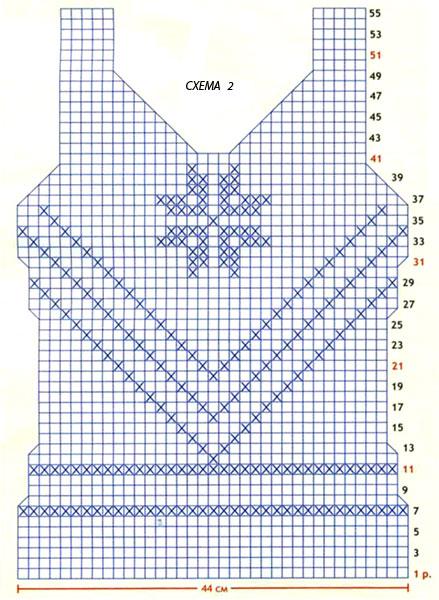 Схема вязания голубой топ с сеточкой на животе раздел крючком вязаные крючком кофты схемы