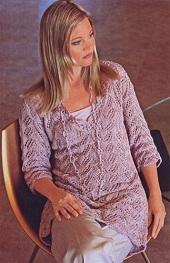 Вязание из льна для женщин 135